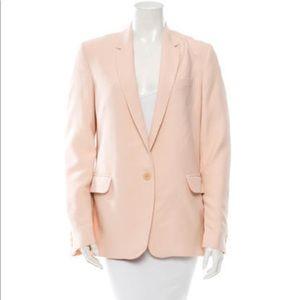 Maje French light pink blazer